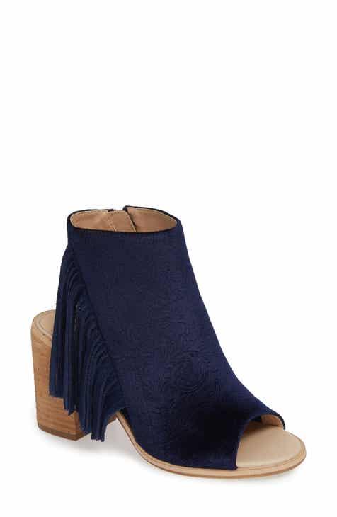f962aeca Very Volatile Pony Express Fringe Bootie Sandal (Women)