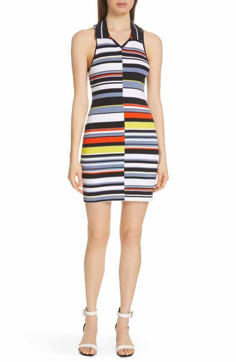 rag & bone Mason Stripe Sleeveless Knit Dress