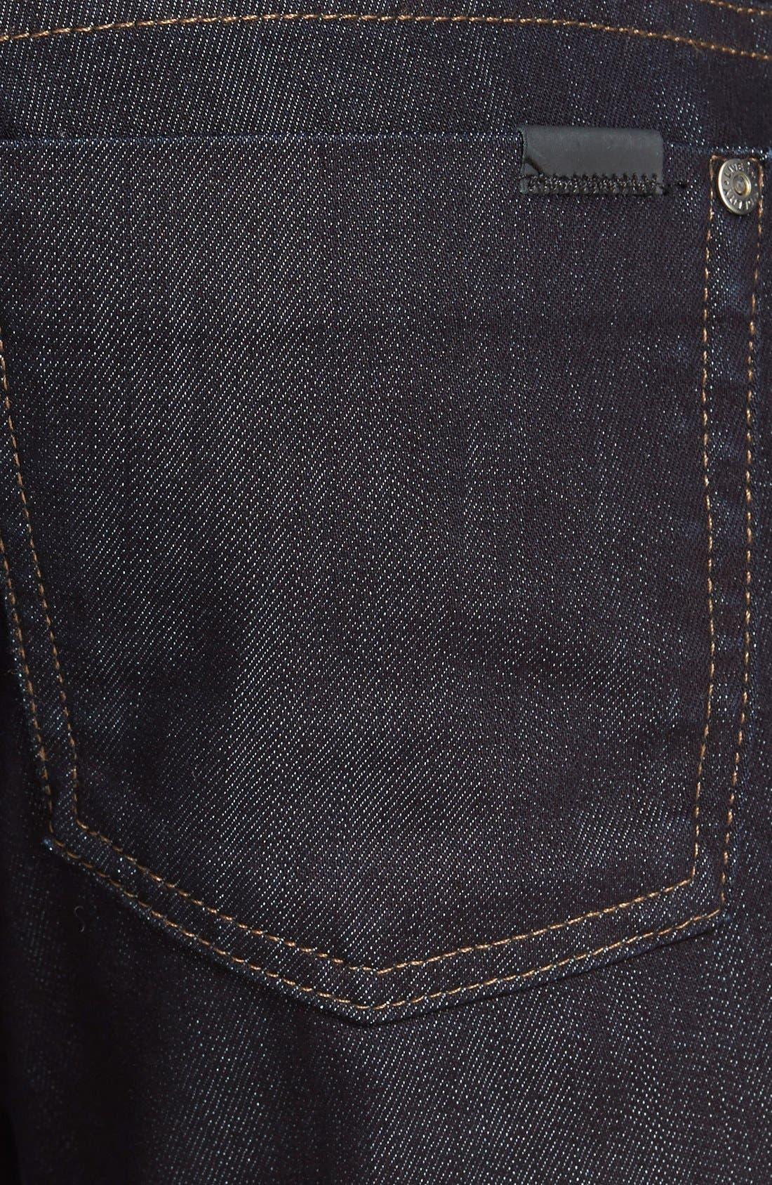Torino Slim Fit Jeans,                             Alternate thumbnail 4, color,                             Revolution Rinse