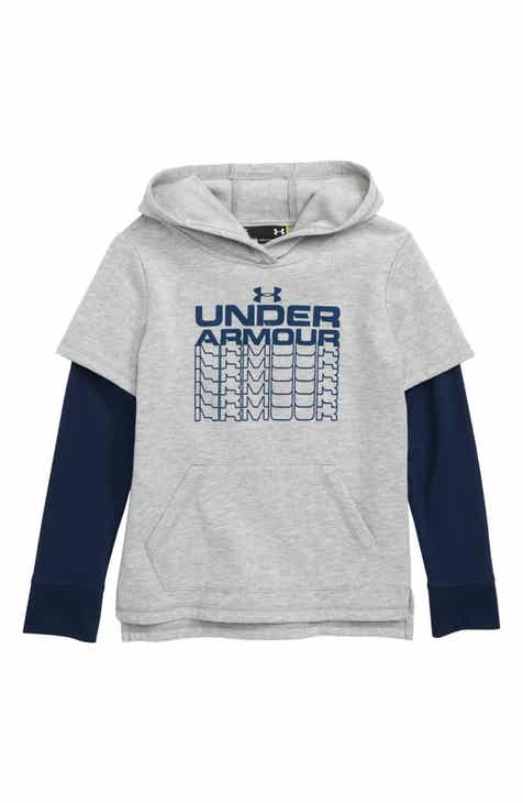 74675b716be Under Armour Rival Fade Out Graphic HeatGear® Hoodie (Toddler Boys   Little  Boys)