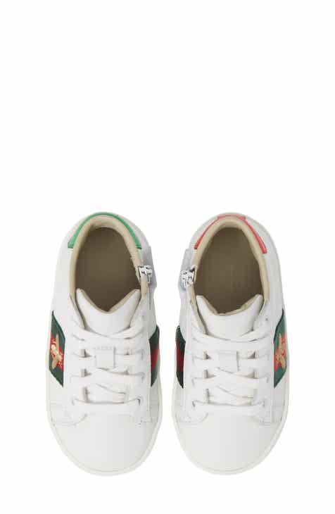 03027e13615 Gucci New Ace High Top Sneaker (Baby