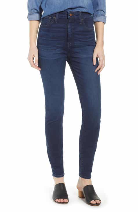 Madewell Curvy High Waist Skinny Jeans (Hayes)
