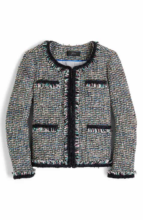 bf459ba5d1c J.Crew Lady Metallic Tweed Jacket