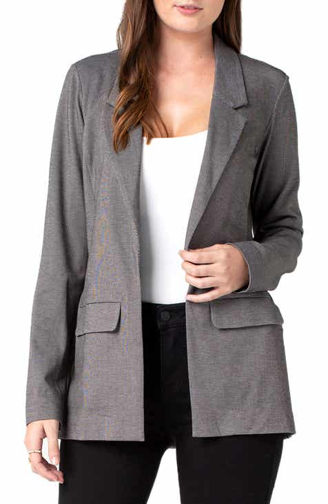 Cinq à Sept Khloe Ruched Sleeve Blazer by CINQ A SEPT