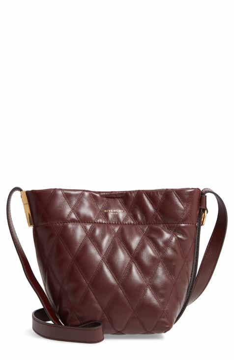 d40e9b17af90 Givenchy Mini GV Quilted Lambskin Leather Bucket Bag