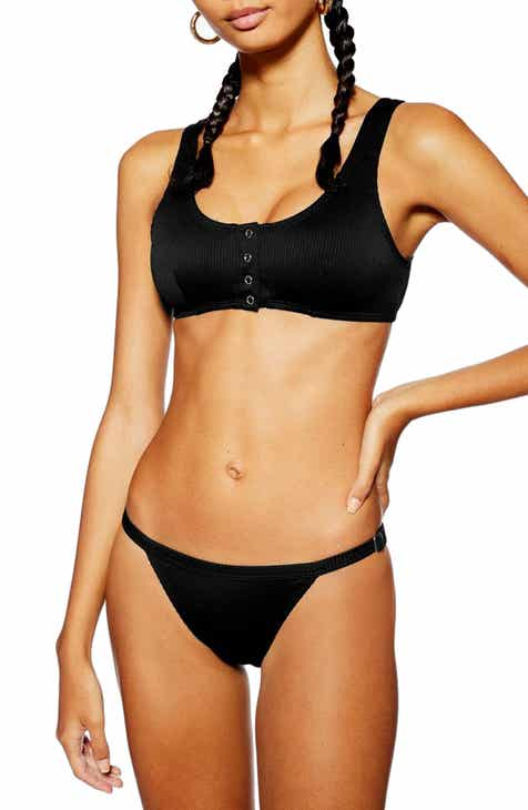 9bf4ac900b Topshop Ribbed Tanga Bikini Bottom