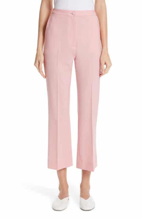 Partow Hadley Crop Stretch Wool Pants by PARTOW