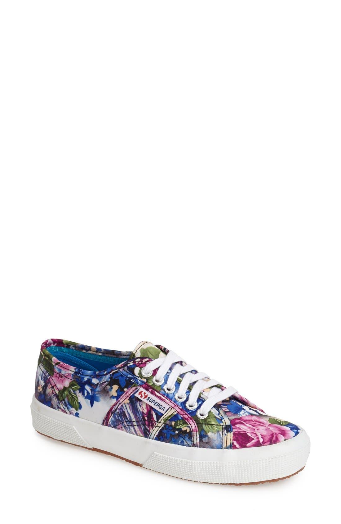 Main Image - Superga 'Cotu' Floral Print Sneaker (Women)