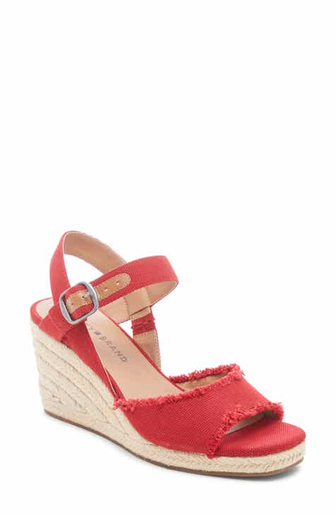 ab6af8a99 Lucky Brand Mindra Espadrille Wedge Sandal (Women)