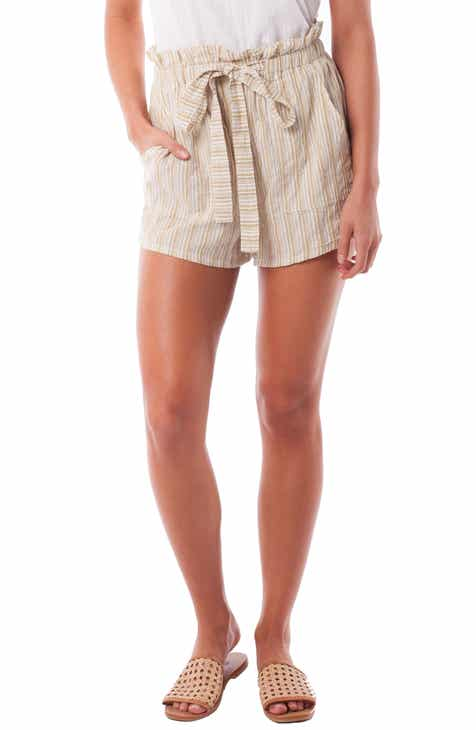 Rhythm Jamaica Woven Cover-Up Shorts by RHYTHM