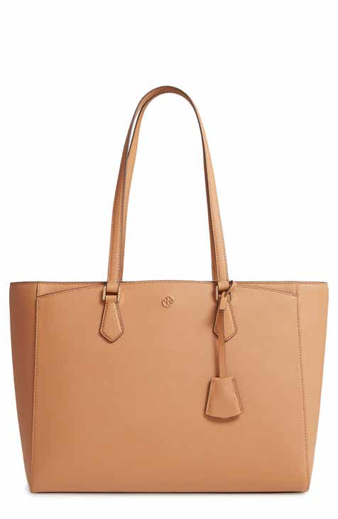 3724b65232e Tory Burch Robinson Saffiano Leather Tote