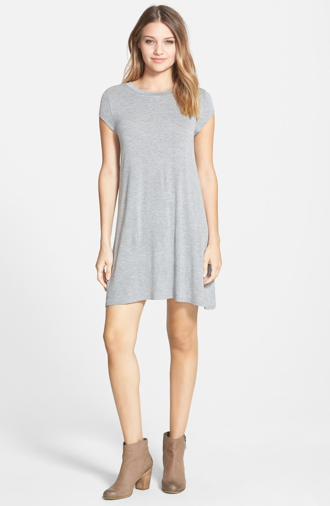 Alternate Image 1 Selected - Billabong 'Last Minute' T-Shirt Dress
