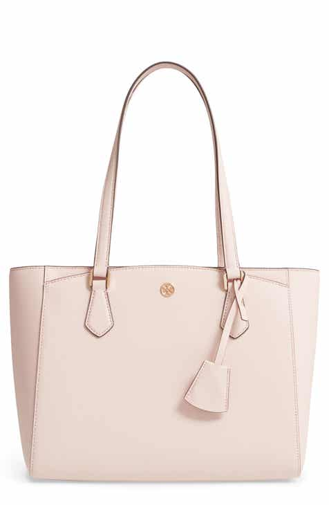 3c1554b9c463 Tory Burch Small Robinson Saffiano Leather Tote