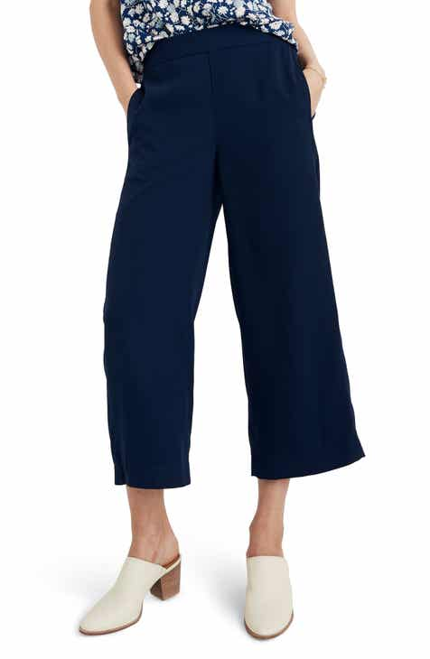 MOTHER The Lounger Insider Step Crop Hem Pants by MOTHER