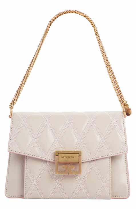 363adfadf6a Givenchy Small GV3 Diamond Quilted Leather Crossbody Bag