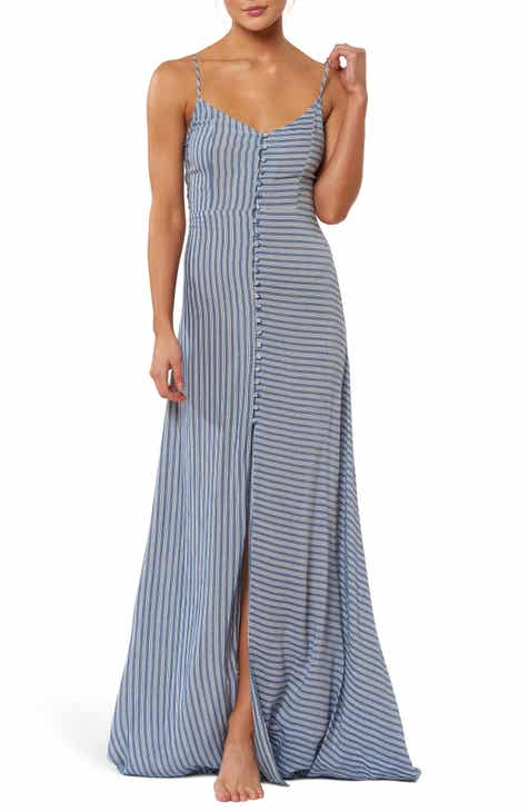 Red Carter Mika Cover-Up Maxi Dress