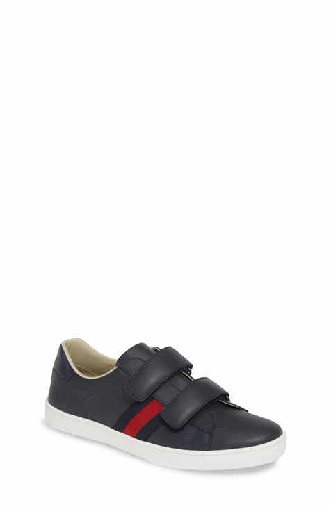 Gucci New Ace Sneaker (Little Kid   Big Kid) 986ab137a087