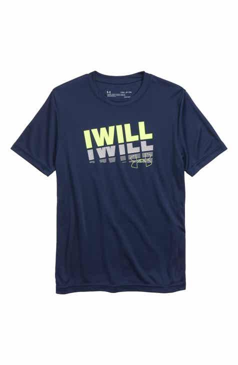 Under Armour I Will Performance T-Shirt (Big Boys)