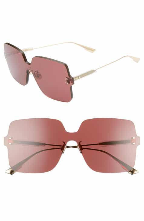 3032166719764 Christian Dior Quake1 147mm Square Rimless Shield Sunglasses