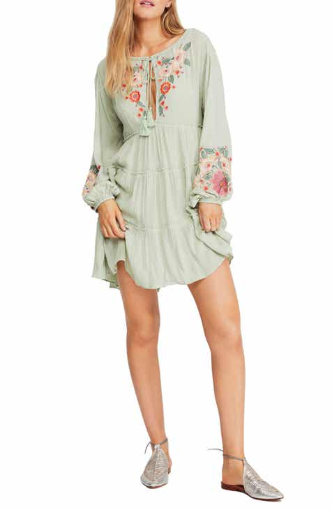 2d2e00b1a4f7d Free People Spell On You Embroidered Minidress