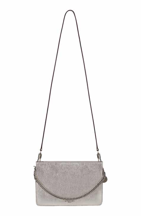 916656abaec4 Givenchy Cross 3 Leather Crossbody Bag
