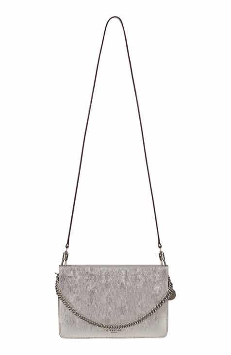 f71d221fb5 Givenchy Cross 3 Leather Crossbody Bag