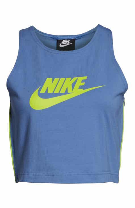 Nike Heritage Logo Crop Tank