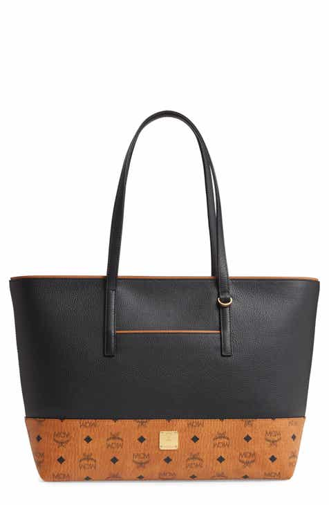 5dc3d44bda MCM Wilder Leather Shopper