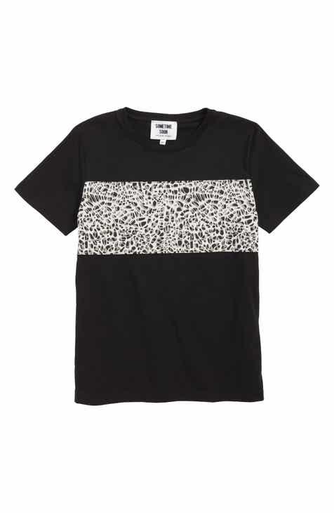Sometime Soon Santee Organic Cotton T-Shirt (Toddler Boys & Little Boys)