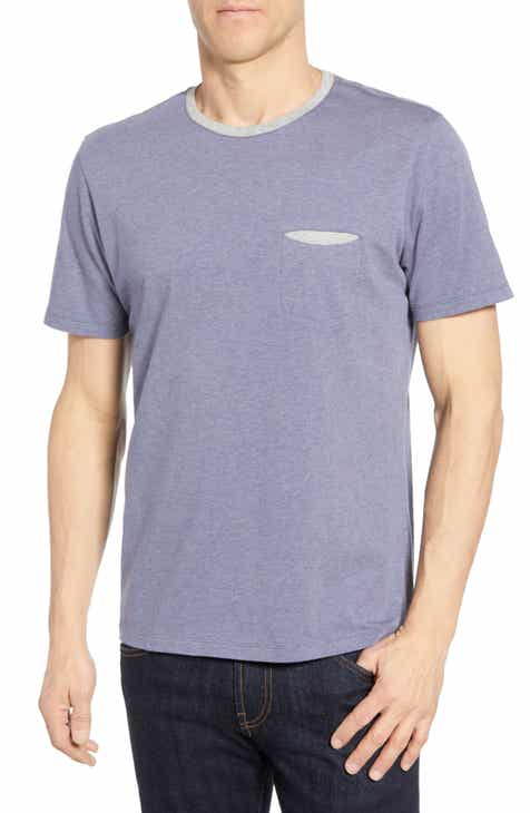 34fdb12c010e1c Robert Barakett Crewneck T-Shirts for Men  Long   Short Sleeves ...