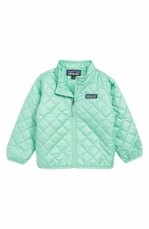 6a8e9465a Patagonia Nano Puff® Quilted Water Resistant Jacket (Toddler Girls & Little  Girls)