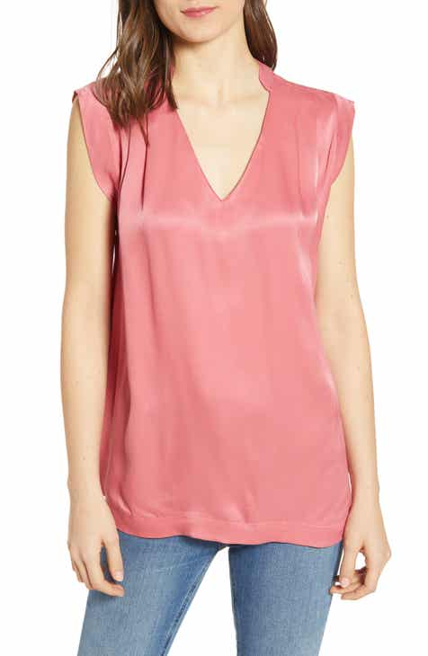 f097641cd9a87d Scotch   Soda Pleated Sleeveless Top