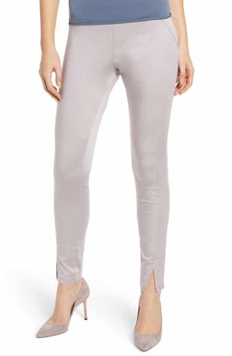 Hue High Waist Sateen Skimmer Leggings by HUE