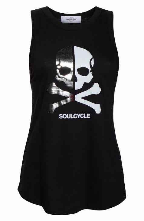 Soul by SoulCycle Split Skull Racerback Tank by SOUL CYCLE
