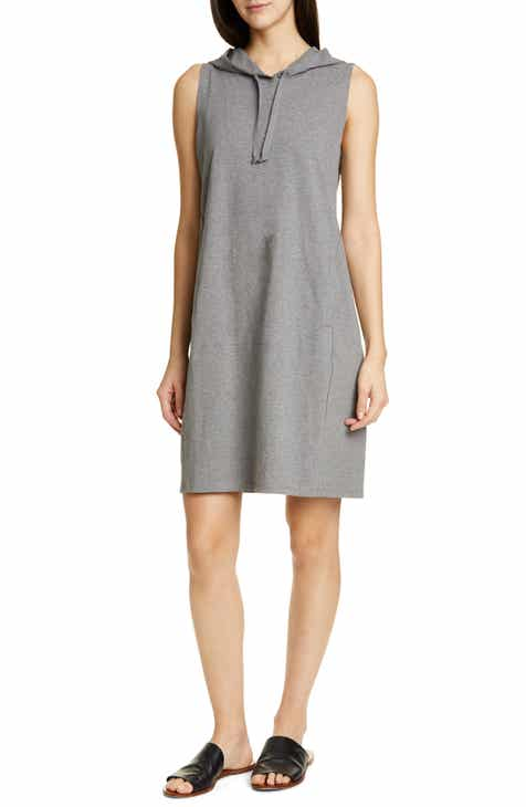 Eileen Fisher Hooded Sleeveless Dress by EILEEN FISHER