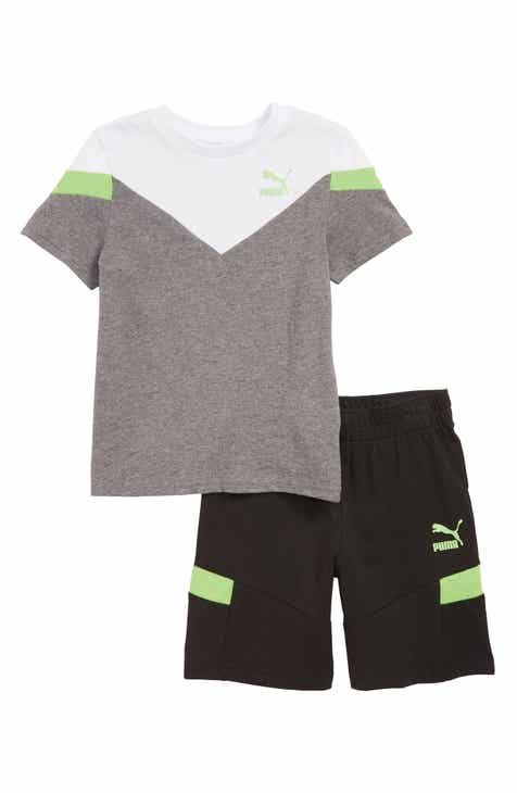 9c416c960e4e PUMA Colorblock T-Shirt   Shorts Set (Toddler Boys)