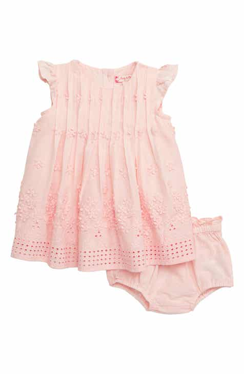 39b7de8edda Ruby   Bloom Flower Embroidered Pleated Dress (Baby Girls)