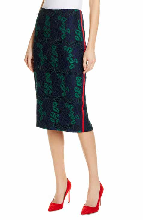 55f255553f1e Ted Baker London Lace Pencil Skirt