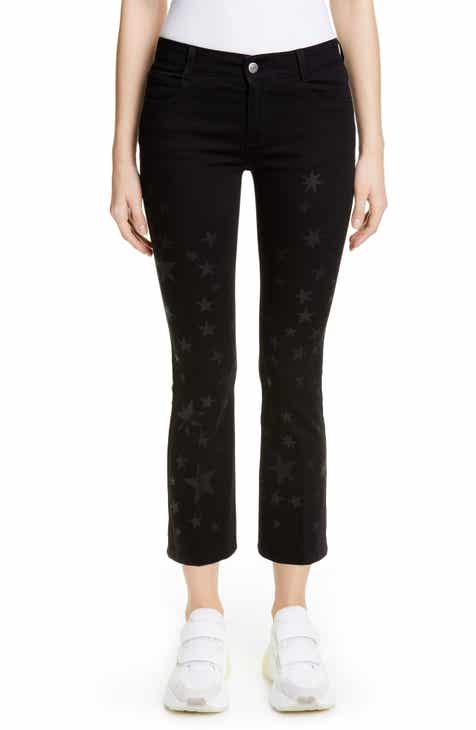 Stella McCartney Star Print Skinny Kick Jeans by STELLA MCCARTNEY