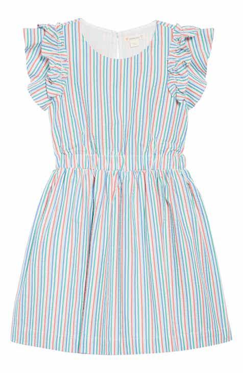 4214e0df8324 crewcuts by J.Crew Kate Ruffle Seersucker Dress (Toddler Girls