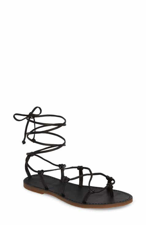 0f750618ba7c Madewell The Boardwalk Lace-Up Sandal (Women)