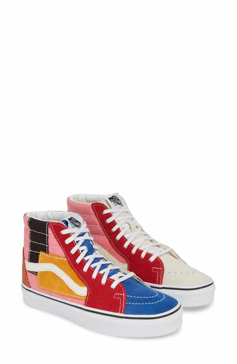 3491c4ad7cd7 Vans Sk8-Hi Patchwork High Top Sneaker (Women)