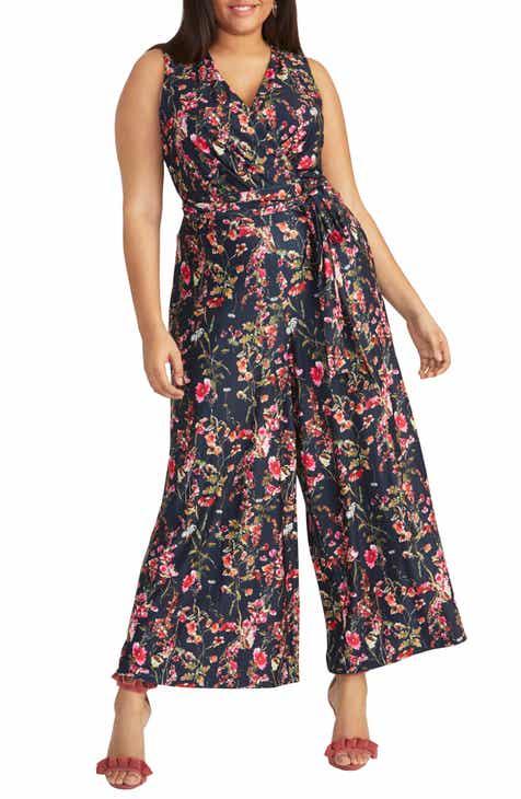 617a55fba76 RACHEL Rachel Roy Faux Wrap Jumpsuit (Plus Size)