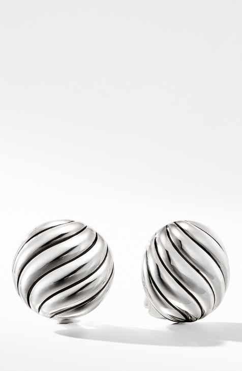 035fcecbb856 David Yurman Cable Stud Earrings in Sterling Silver