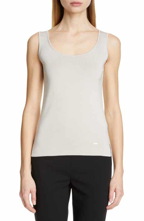 Akris Stretch Silk Tank by AKRIS