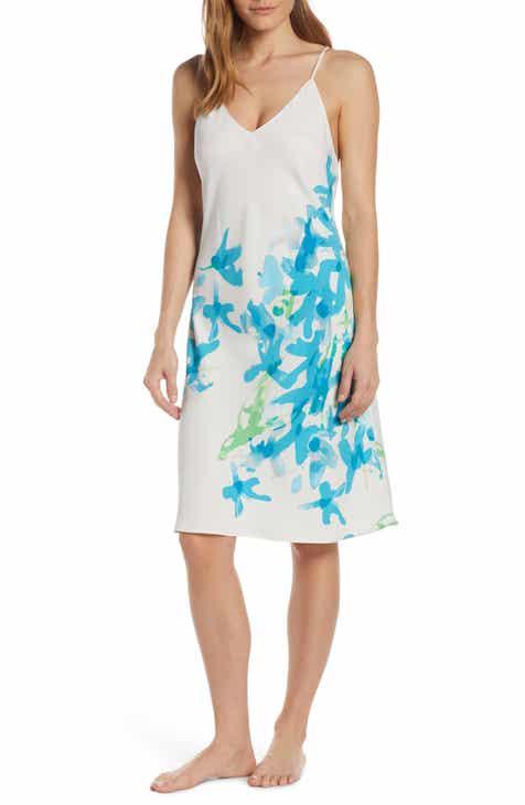 20f61b51f74d Natori Hyacinth Satin Slip Nightgown