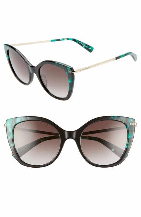 1ec3575ea33 Longchamp 52mm Gradient Cat Eye Sunglasses