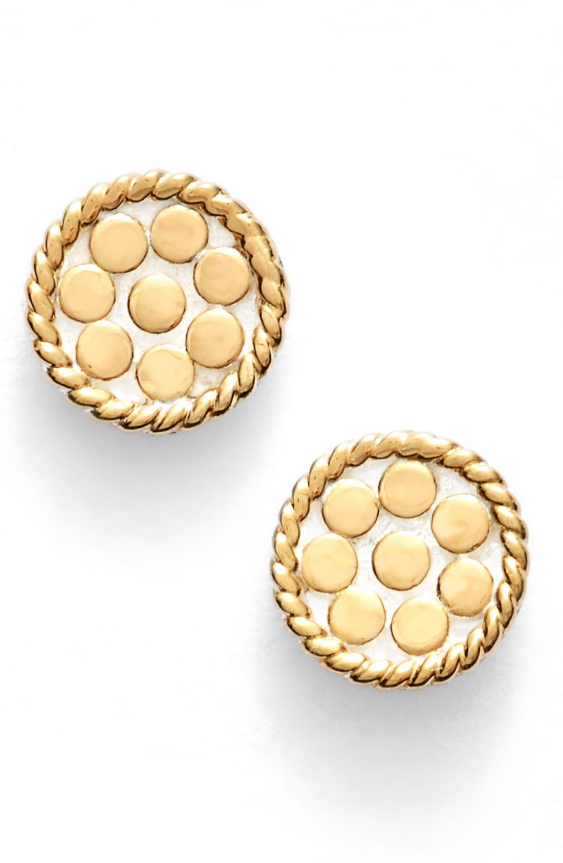 Anna Beck 'Gili' Mini Disc Stud Earrings