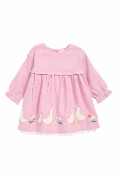 b581abd05b4 Mini Boden Embroidered Dress (Baby   Toddler Girls)