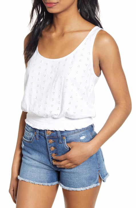 1b797ad220a Schiffly Eyelet Tank Top (Regular & Plus Size)